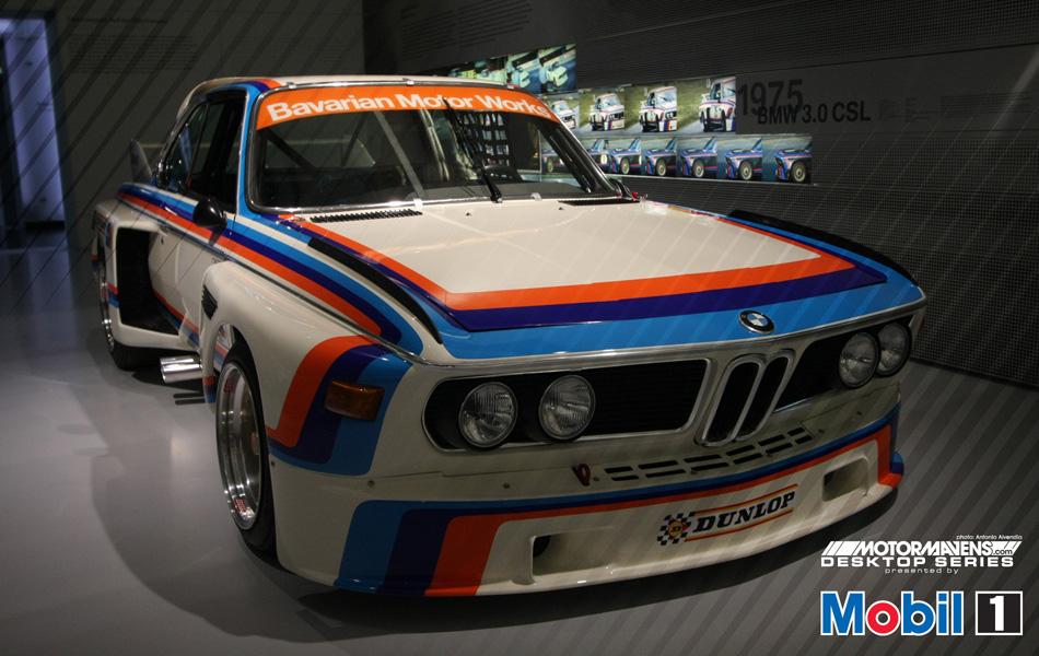 MotorMavens/Mobil1 Desktop Series - 1975 BMW 3.0 CSL