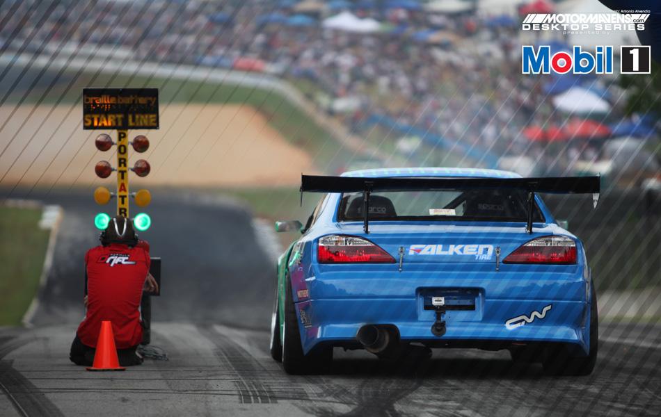 MotorMavens/Mobil1 Desktop Series - Calvin Wan Falken S15 Formula Drift - Road Atlanta