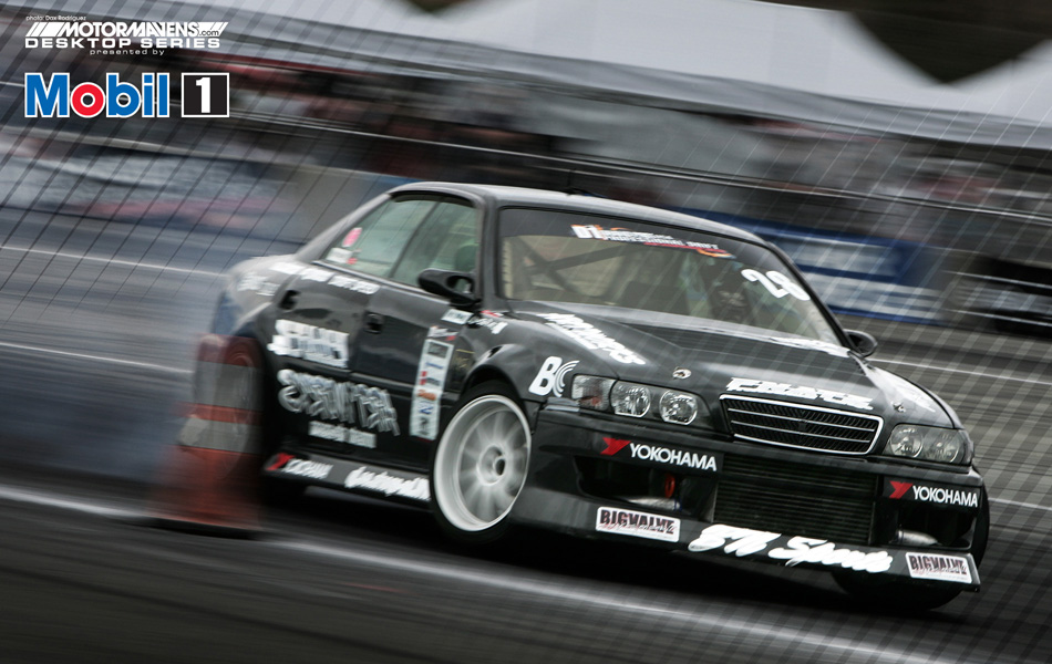MotorMavens/Mobil1 Desktop Series - Daigo Saito drifting at D1GP Arizona