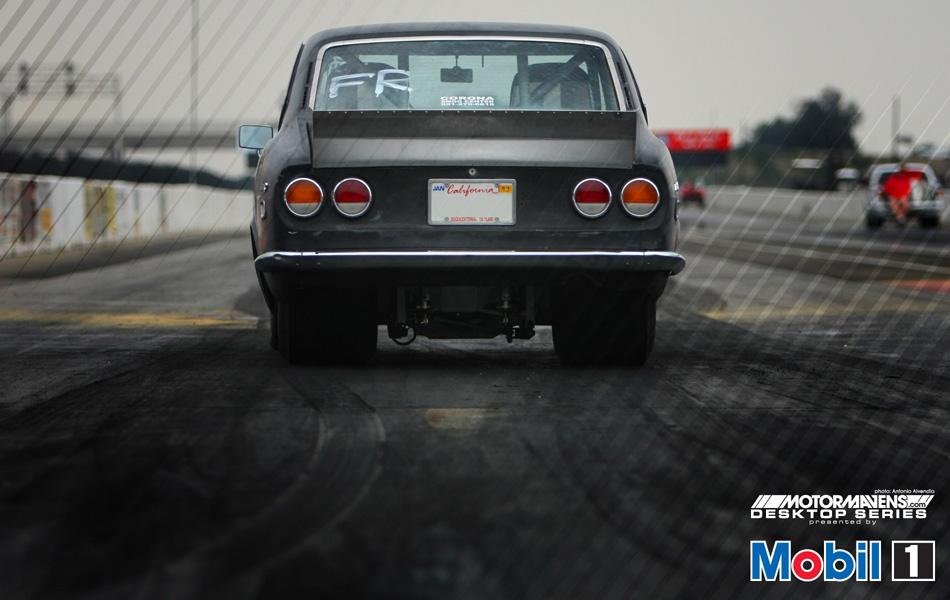 MotorMavens/Mobil1 Desktop Series - IDRC Mazda RX2 Drag Car