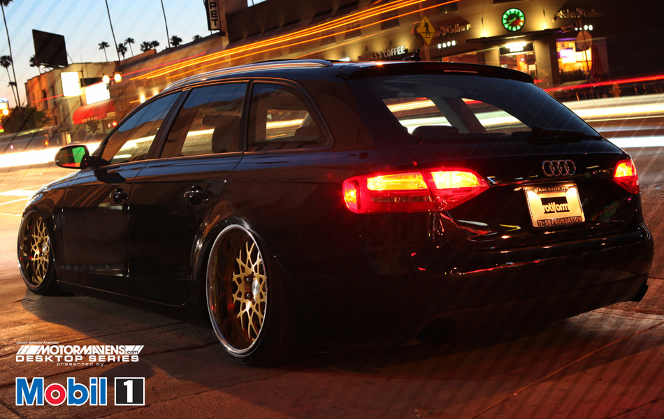 MotorMavens/Mobil1 Desktop Series - Rotiform Audi