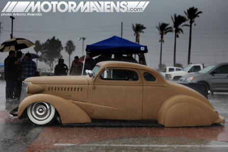 Mooneyes Christmas Party XMas Irwindale hot rod kustom show