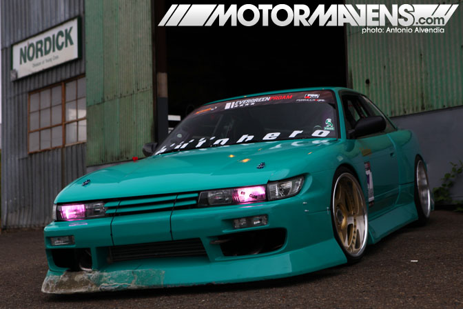 BN Sports Blister S13 Silvia SSR Koenig Turbonetics Turbo SR20DET Roland Gallagher Garage Autohero Seattle Team Instant Party Formula Drift