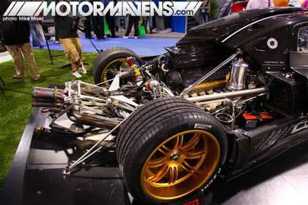 carbon fiber Pagani Zonda R SEMA 2009