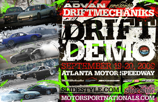 DriftMechaniks Demo @ Motorsport Nationals