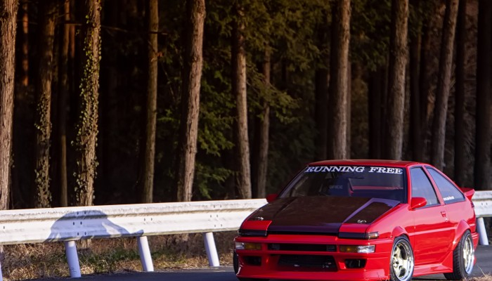 AE86, Running Free, Run Free, Trueno, Yamashia Koichi, Work Wheels, Work Meister, 4AG