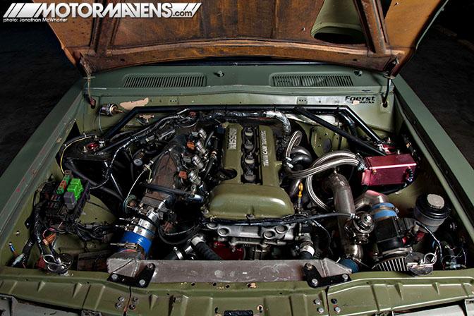 SR20DET, Datsun 620