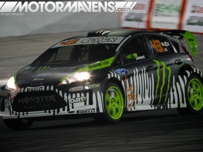 Ken Block, ford Fiesta, gymkhana, dc shoes