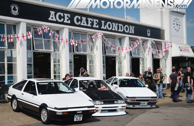 AE86, retro toyota, ace cafe london