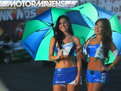 falken tire, umbrella girls, randyl dawn, jael