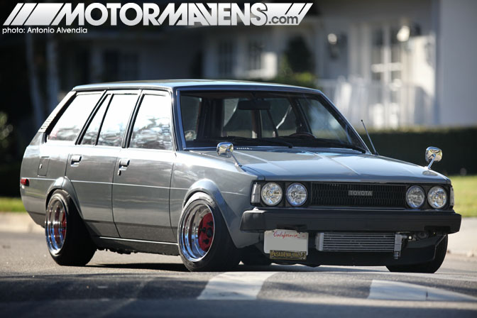 Center Stage Te72 Wagon With Widened Advans Motormavens Car