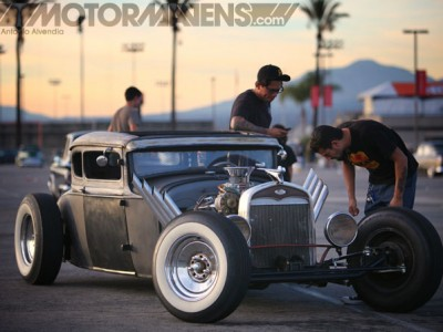 Mooneyes, Mooneyes Xmas PArty, Irwindale Speedway, hot rod