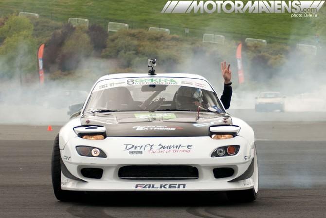 Calvin Wan, FD3S, RX7, Sonoma Drift