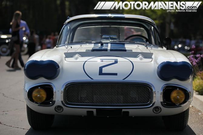 1960 Corvette, Bruce Meyer, Petersen Automotive Museum, LeMans Corvette, Sebring