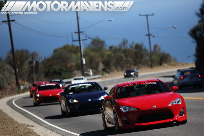 Scion, Longo Toyota, Longo Scion, Tour of LA, Scion FRS