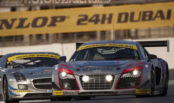 Dubai 24H, Dragonspeed, Audi, R8