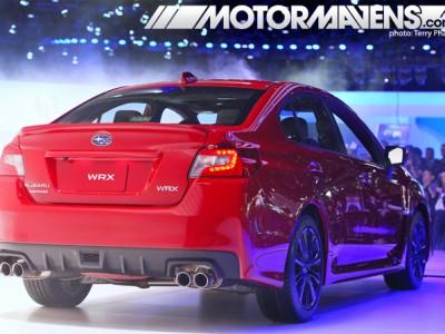 Subaru, Impreza, WRX, LA Auto Show