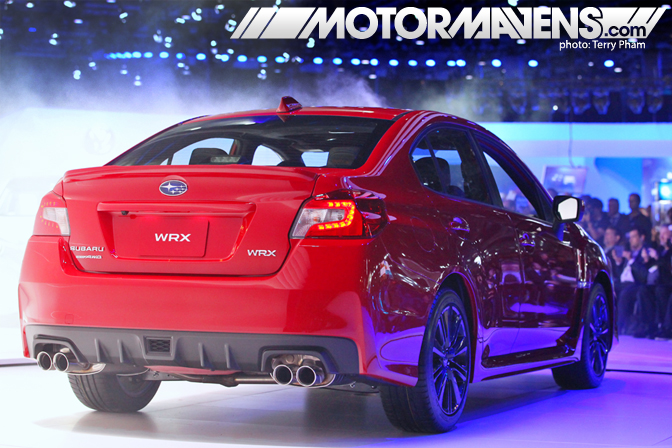 Subaru WRX World Debut Video LA Auto Show MotorMavens
