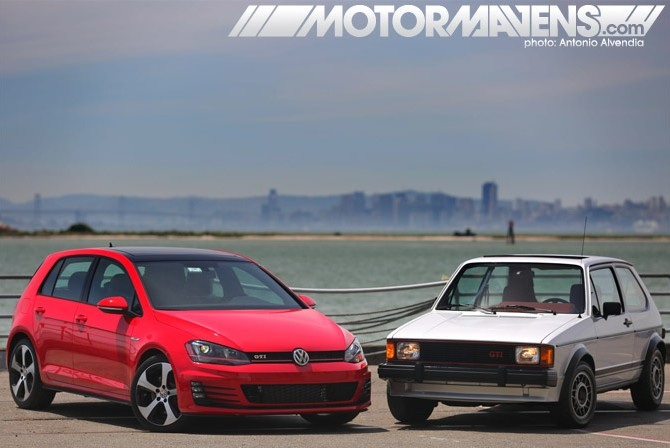 Volkswagen GTI Rabbit Golf 40 years
