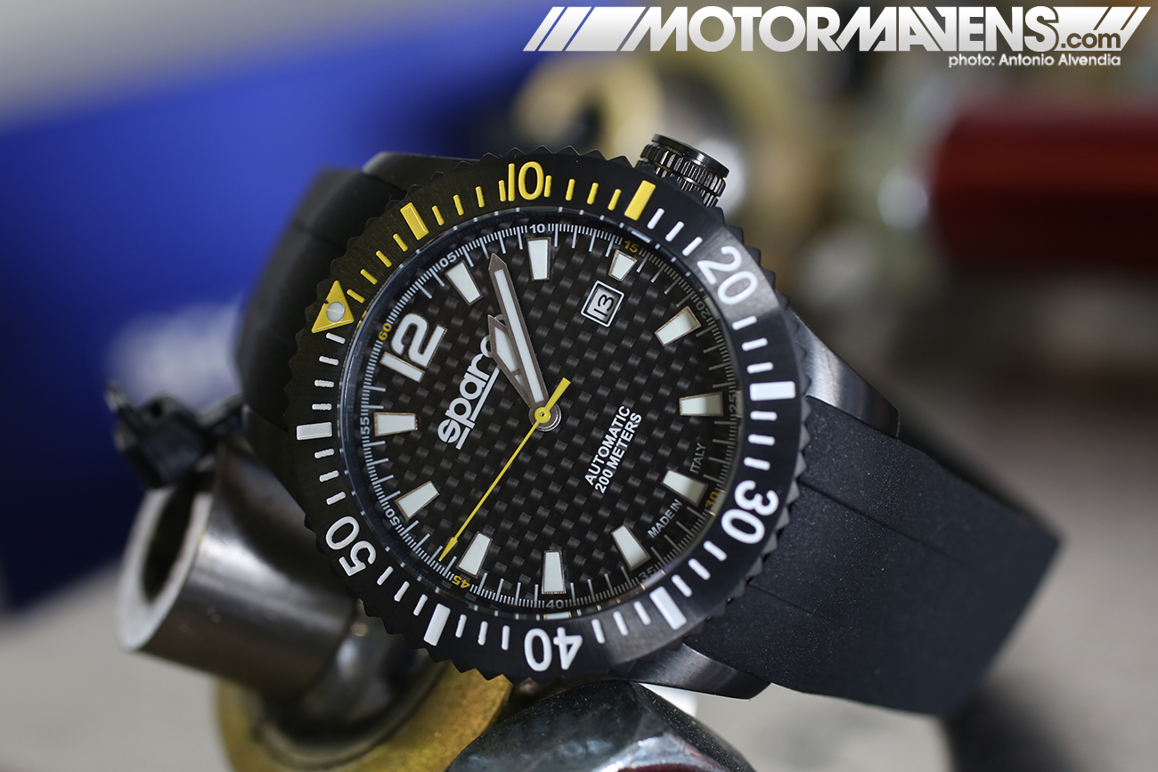 Sparco, Carbon Fiber, Watch