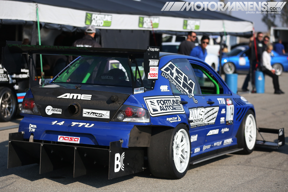 Ums Tuning Ct9a Mitsubishi Lancer Evo8 Drives Itself At