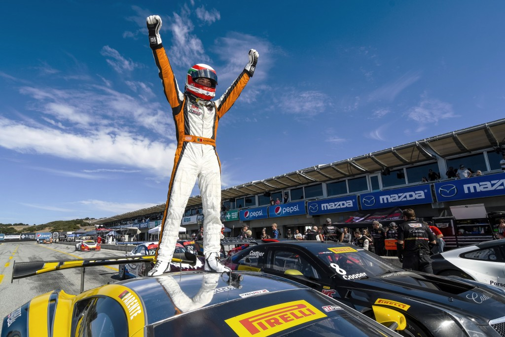 McLaren 650S GT3 Pirelli World Challenge Laguna Seca Raceway