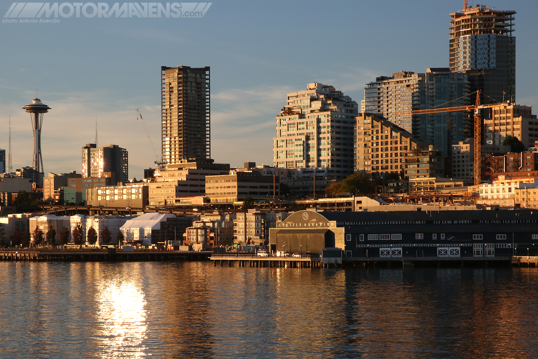 Seattle Waterfront, Pike Place Market, Space Needle, Seattle Aquarium