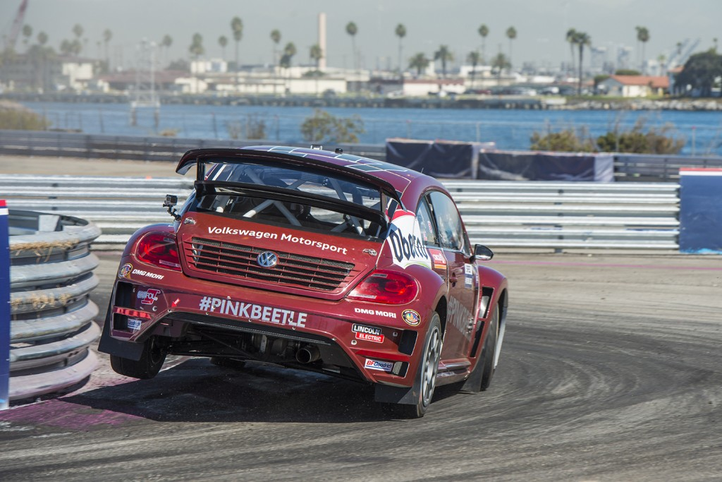 Volkswagen Wins Manufacturer Championship Red Bull Global Rallycross VW Turbo Beetle Scott Speed