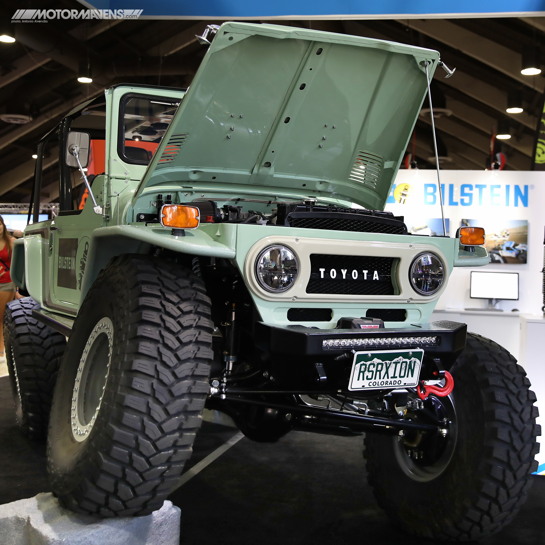 FJ40, Land Cruiser, Proffitt's Resurrection Land Cruisers, 3FE, Off Road Expo, Bilstein, Maxxis