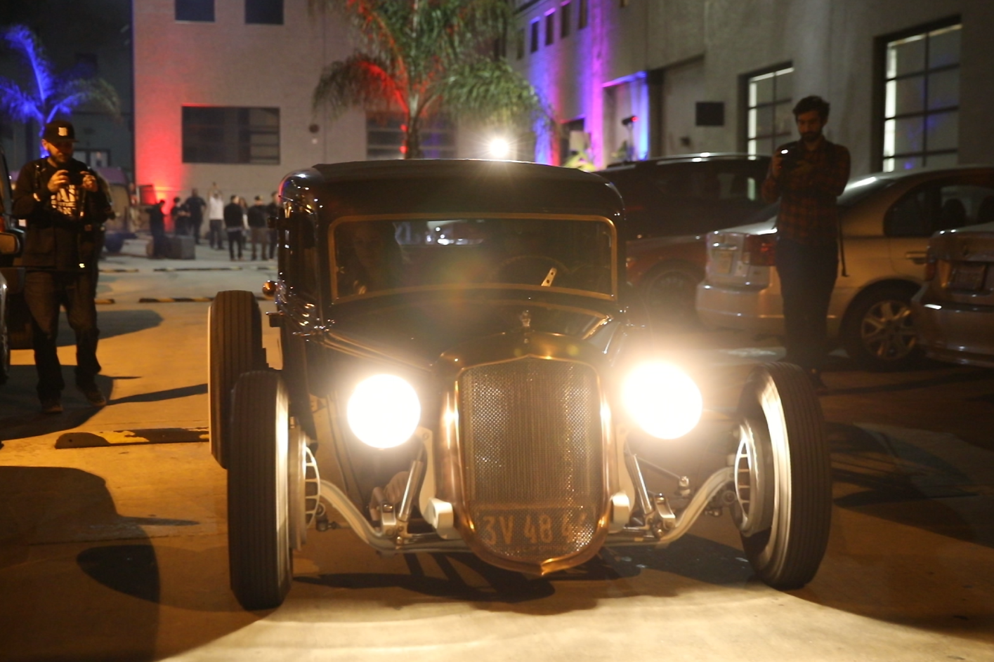 LA Cars & Music RedBull Music Academy screening party
