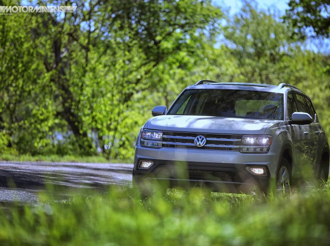 VW Atlas 7 seat 3 row SUV 4Motion AWD Turbocharged