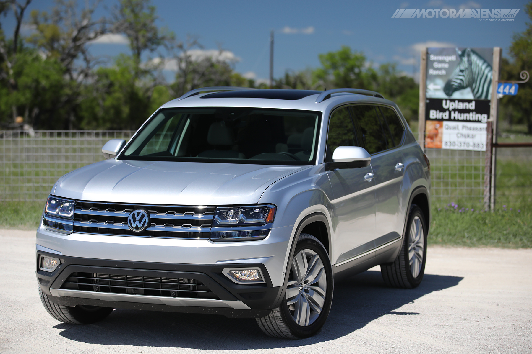 VW Atlas Texas Hill Country Serengeti Game Ranch