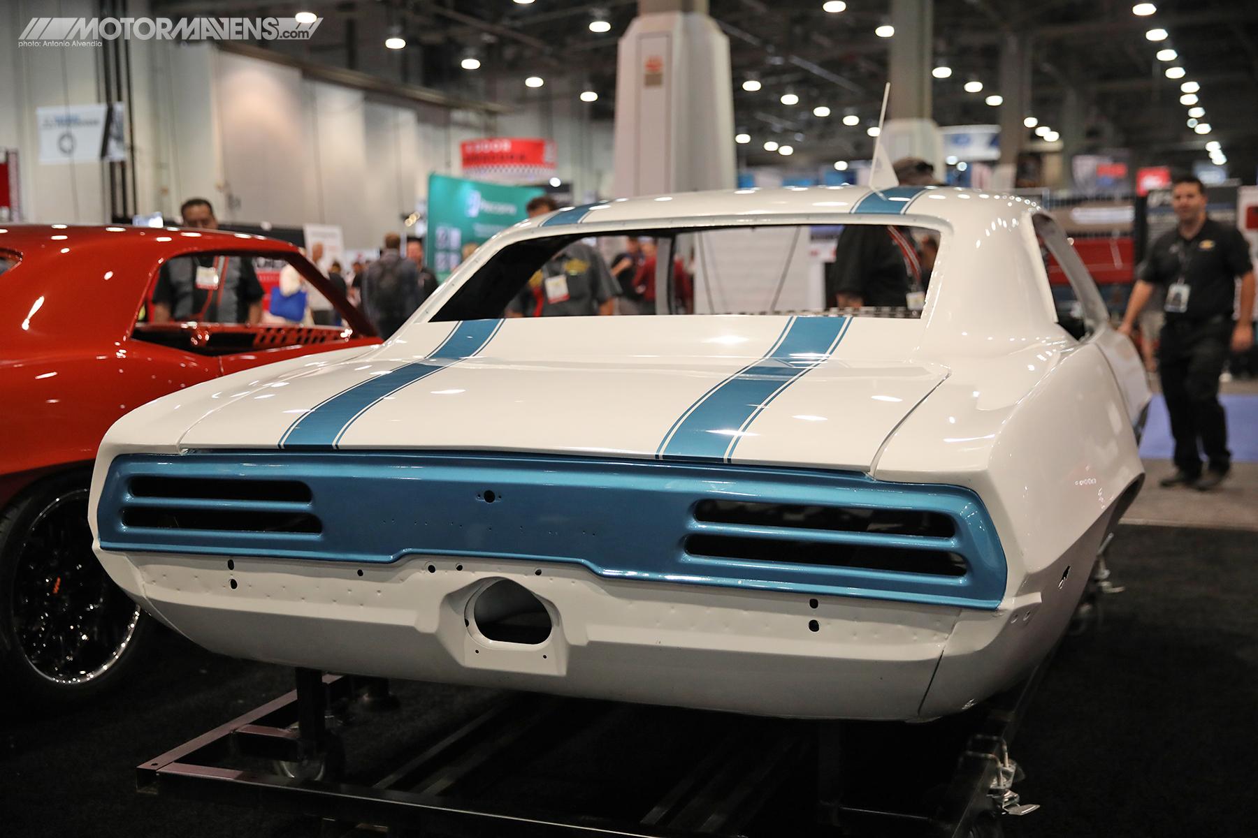 69 Camaro body