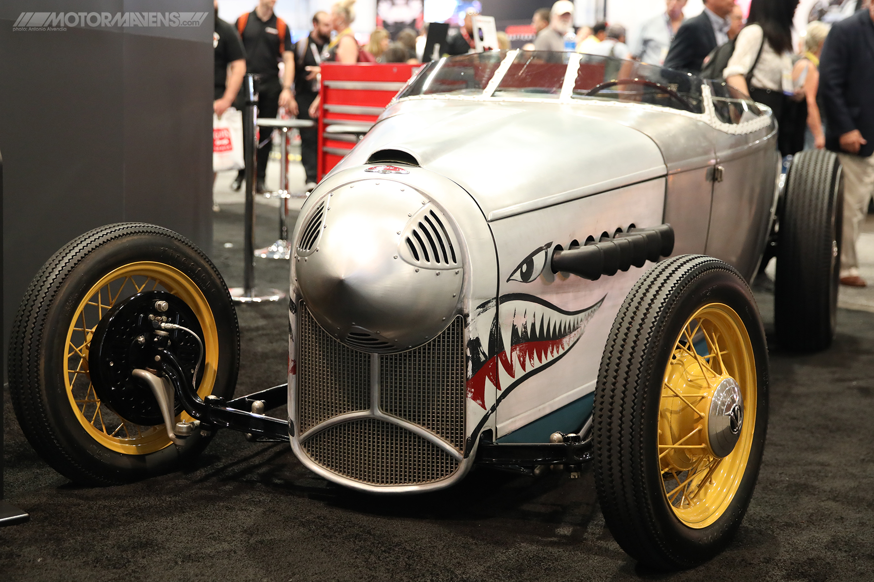 chip goose, sema, sema 2017, flying tigers, hot rod