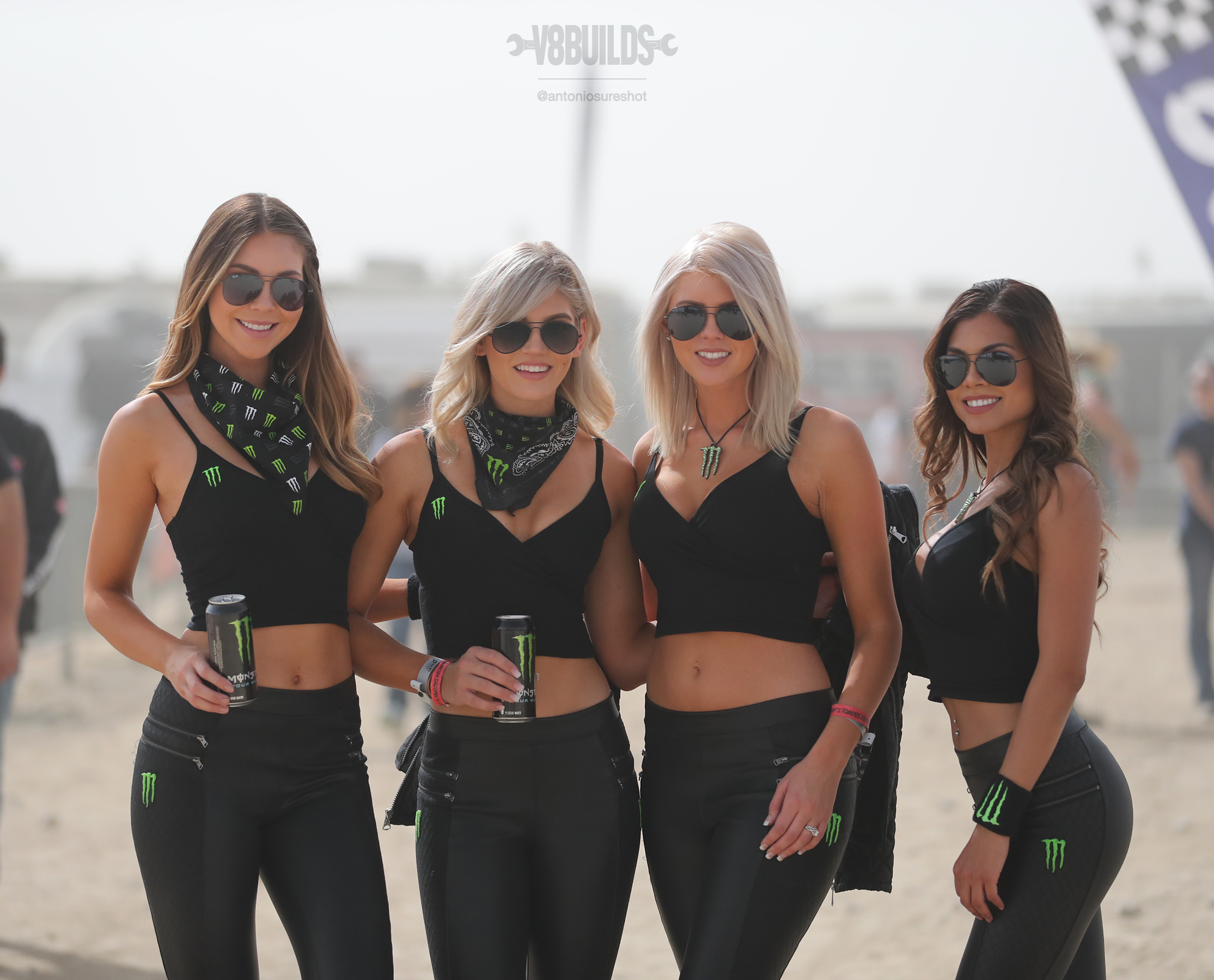Monster Energy Girls, Kelsey Liwinski, Chelsey Cady, Mayte Lopez,king of the hammers, koh, hammertown, ultra 4 racing, offroad
