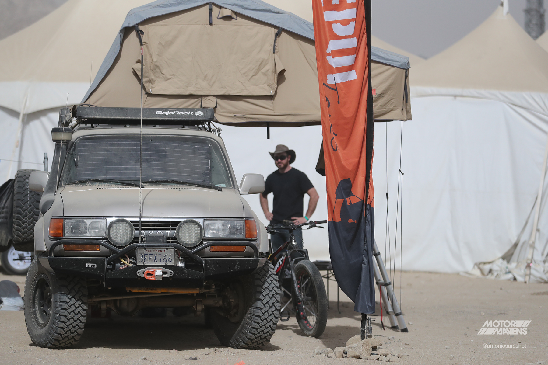 King of the Hammers, Toyota Land Cruiser, Hammertown, KOH, FJ80, FZJ80, overland expedition