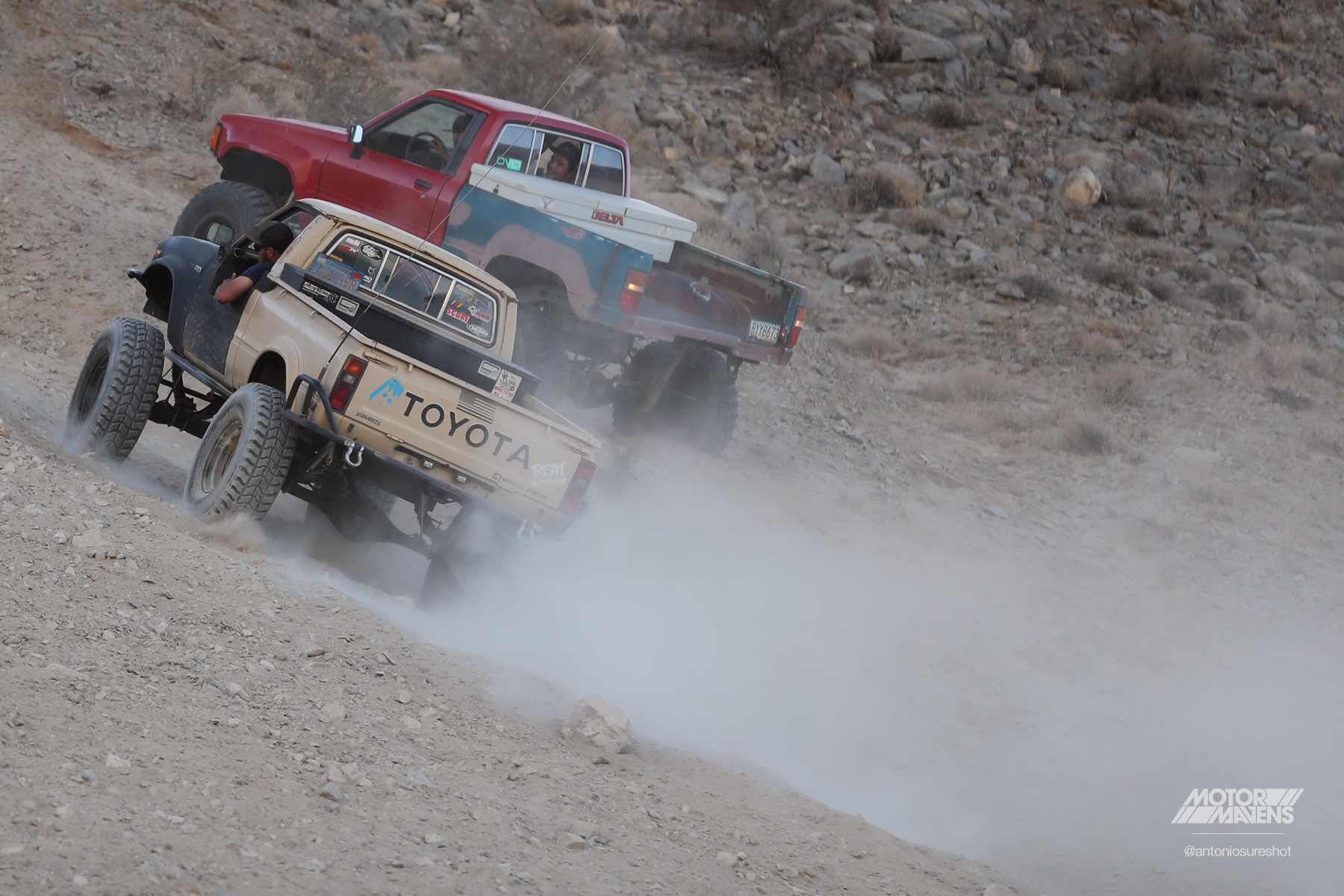 Toyota Pickup 4wd, King of the Hammers, hammertown, nitto tires