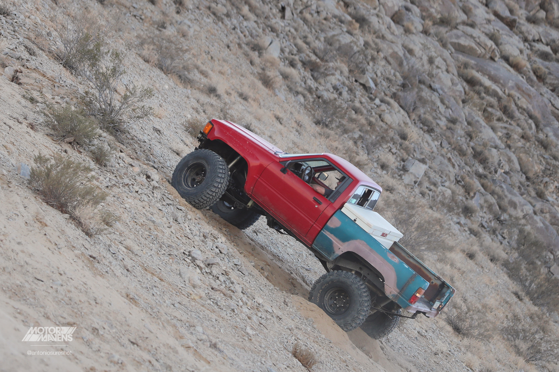 Toyota Pickup 4wd, King of the Hammers, hammertown, nitto tires, 22R