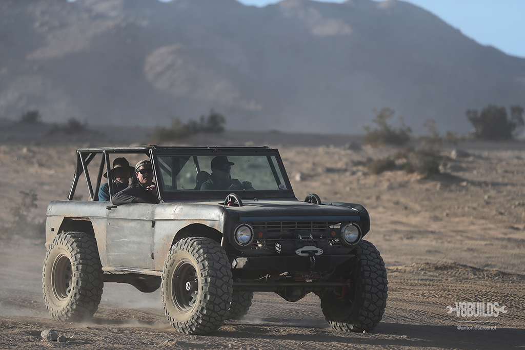 Classic Ford Bronco, Ford Bronco, King of the Hammers, Hammertown, Johnson Valley, Lucerne Valley, Victorville, Nitto Tires, offroad