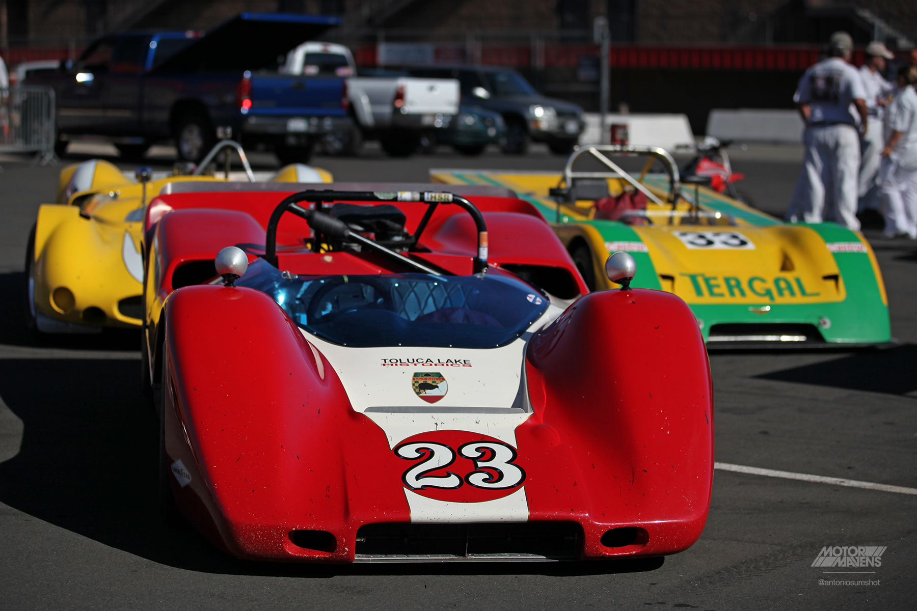 can am, Mclaren, mclaren M6B, Toluca Lake Motorsports, VARA, HSR West