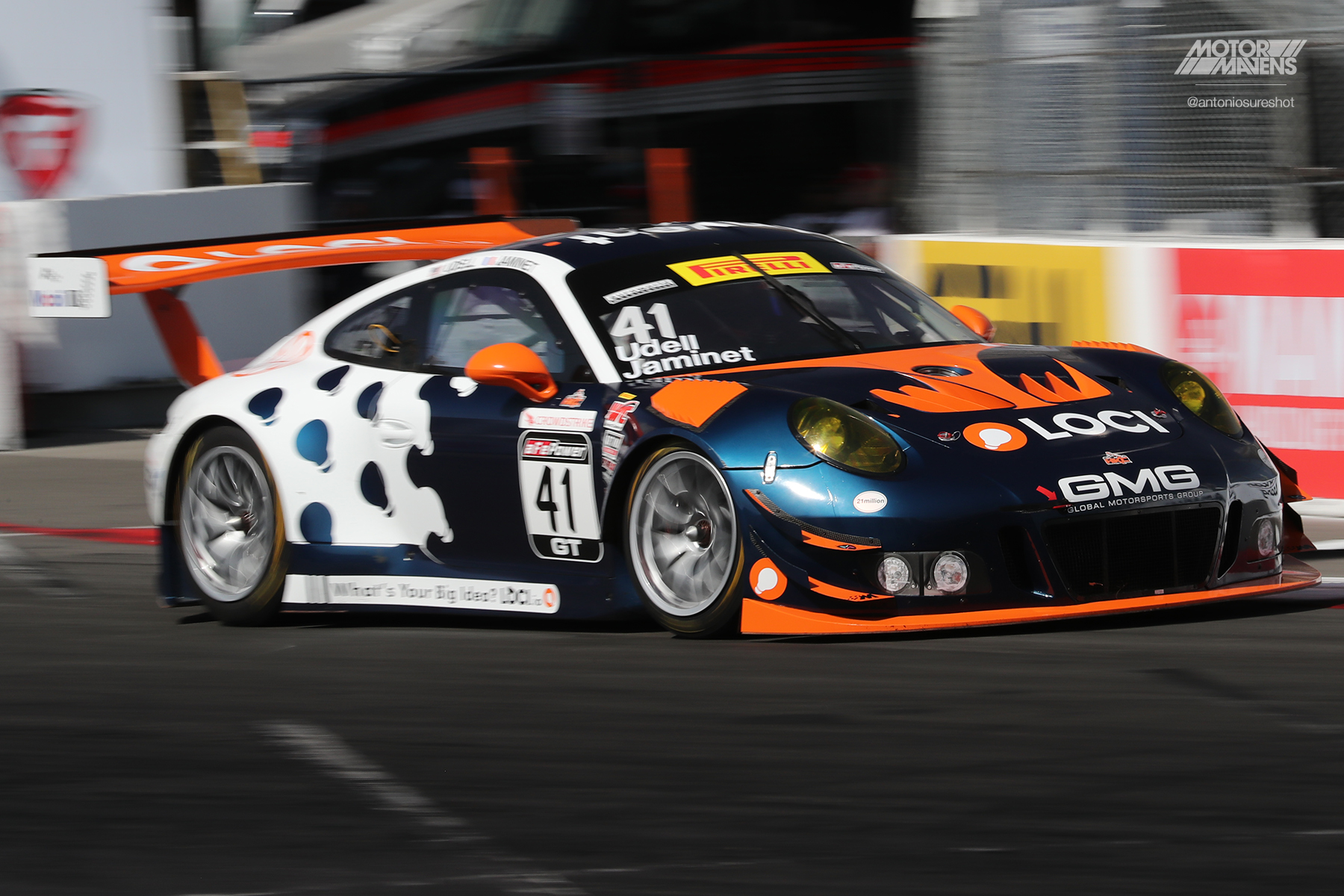 Porsche 911, 991, 911 GT3R, 911 GT3, Pirelli World Challenge, Long Beach Grand Prix, Pirelli, Alex Udell