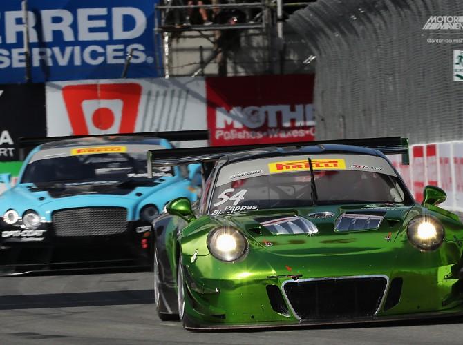 Porsche 911, 991, 911 GT3R, 911 GT3, Pirelli World Challenge, Long Beach Grand Prix, Pirelli