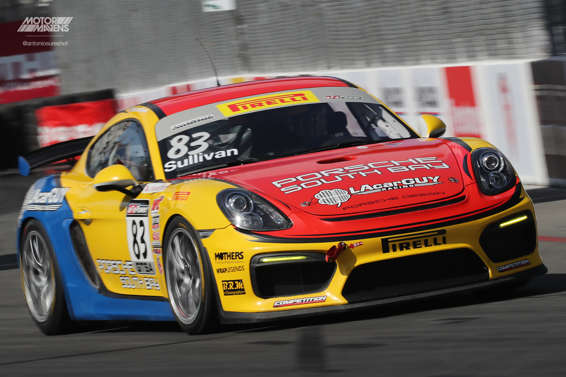 Pirelli World Challenge, Long Beach Grand Prix, Pirelli, Porsche, Cayman GT4