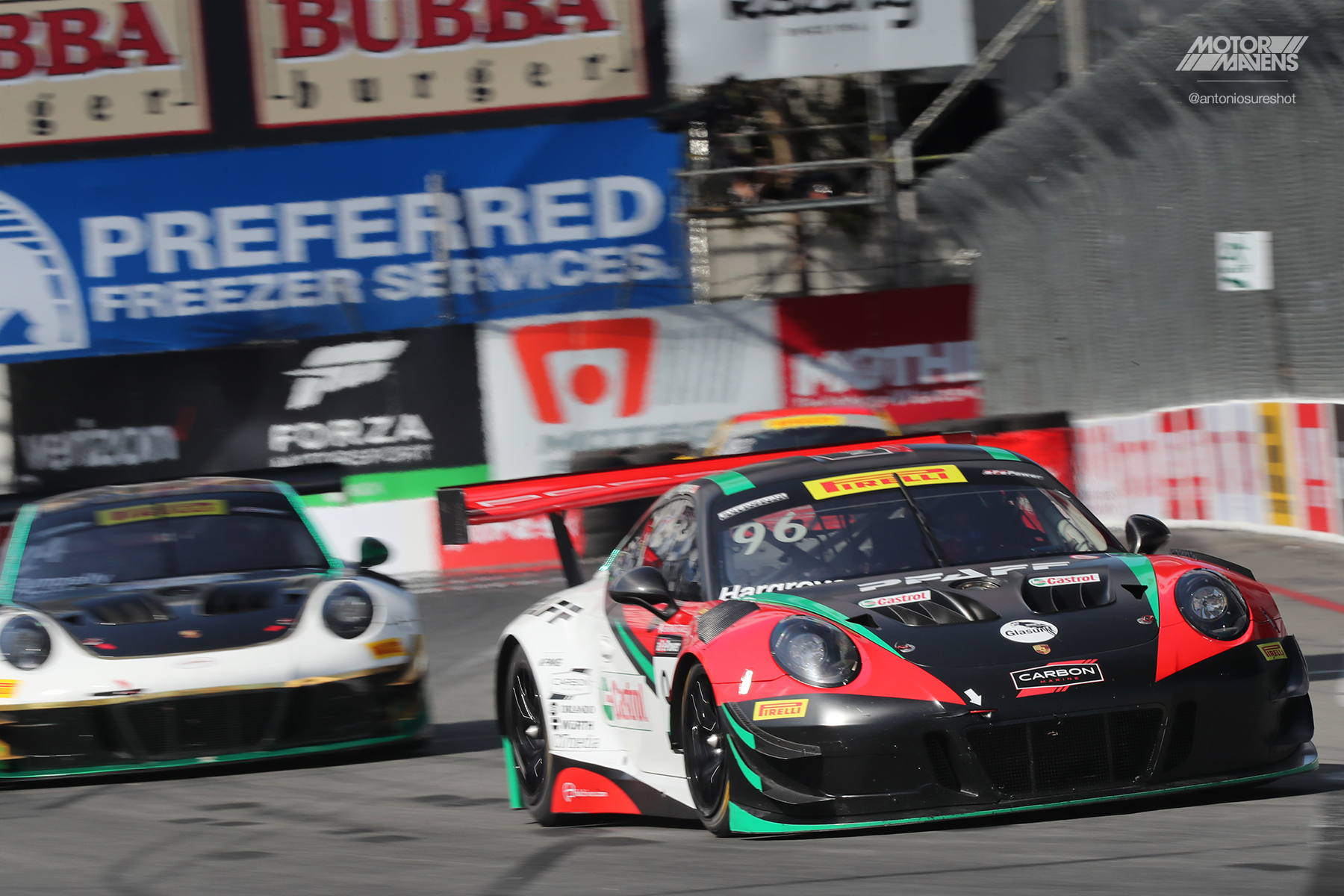 Porsche 911, 991, 911 GT3R, 911 GT3, Pirelli World Challenge, Long Beach Grand Prix, Pirelli