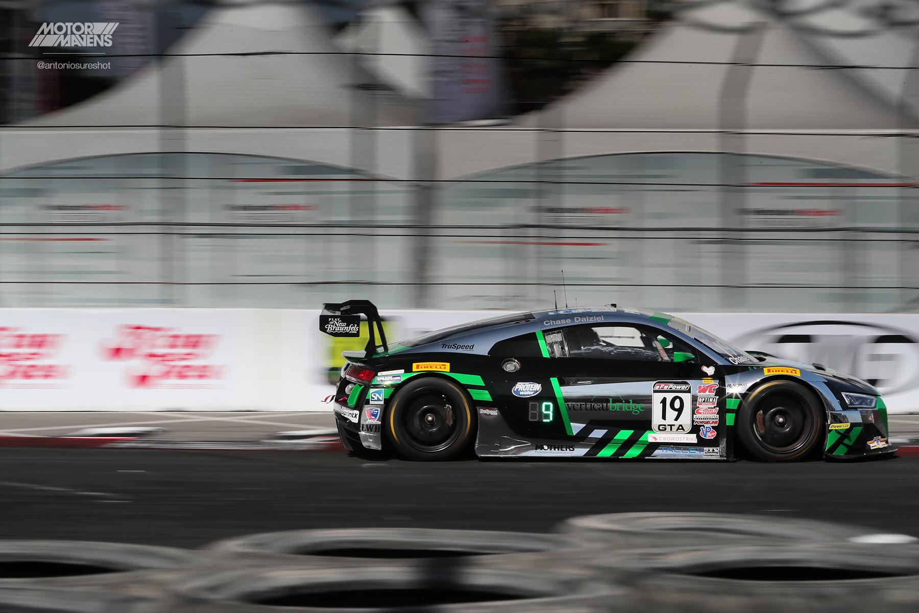 TruSpeed Autosport, Audi R8 LMS, Pirelli World Challenge, Audi R8, Parker Chase