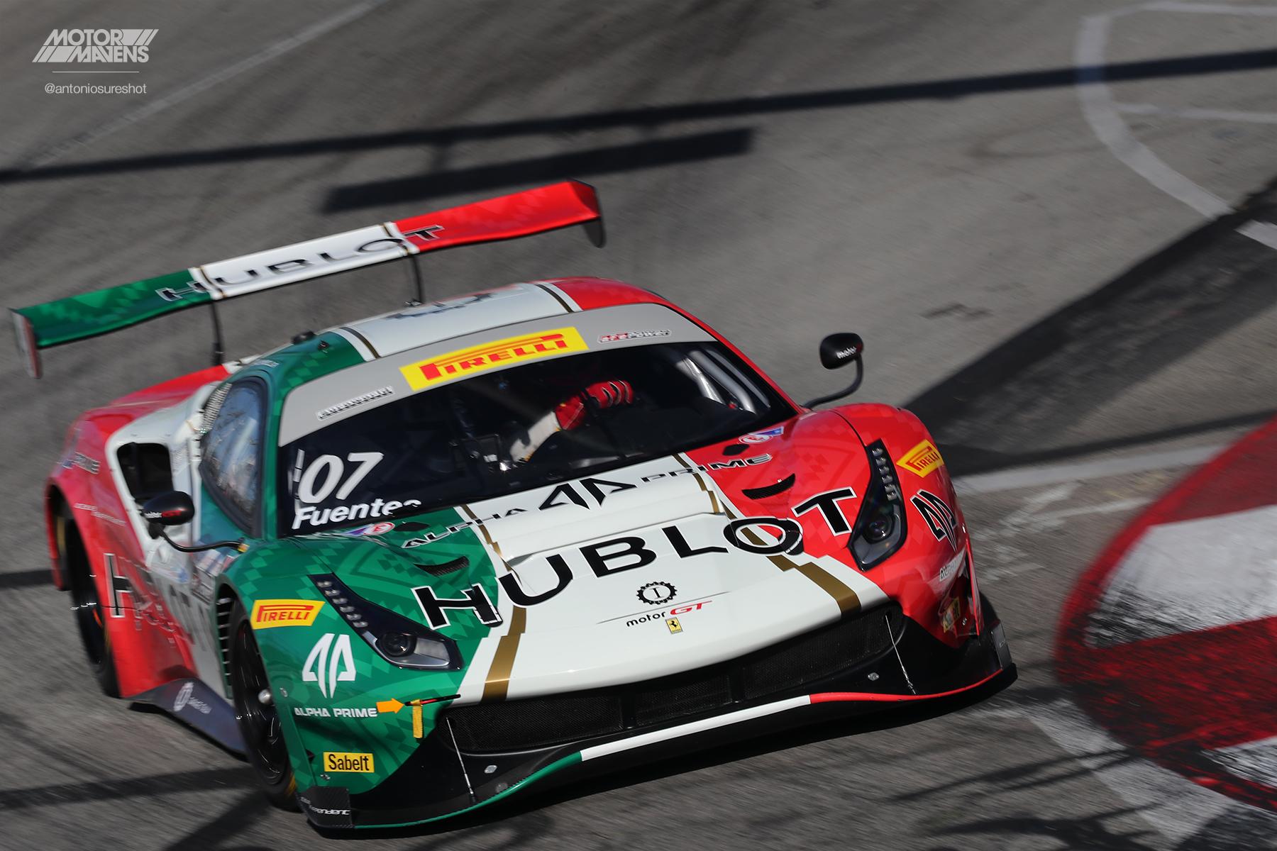 Ferrari, Ferrari 488, Ferrari 488 GT3, Pirelli World Challenge, Long Beach Grand Prix, Martin Fuentes