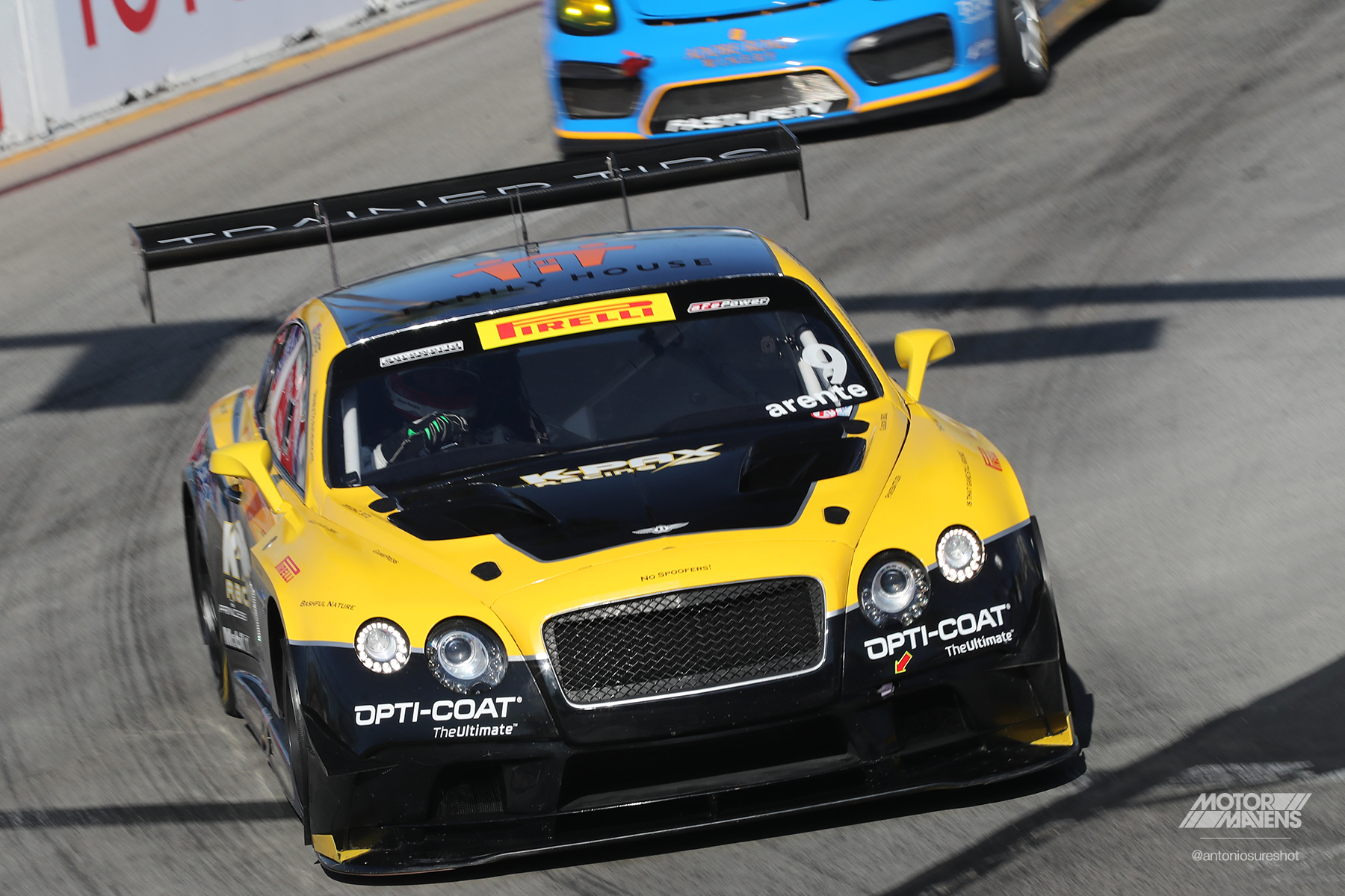 Bentley Continental GT3, Pirelli World Challenge, Pirelli, Long Beach Grand Prix, Bentley Continental, Continental GT3, KPAX, K-PAX, Opticoat, Brembo