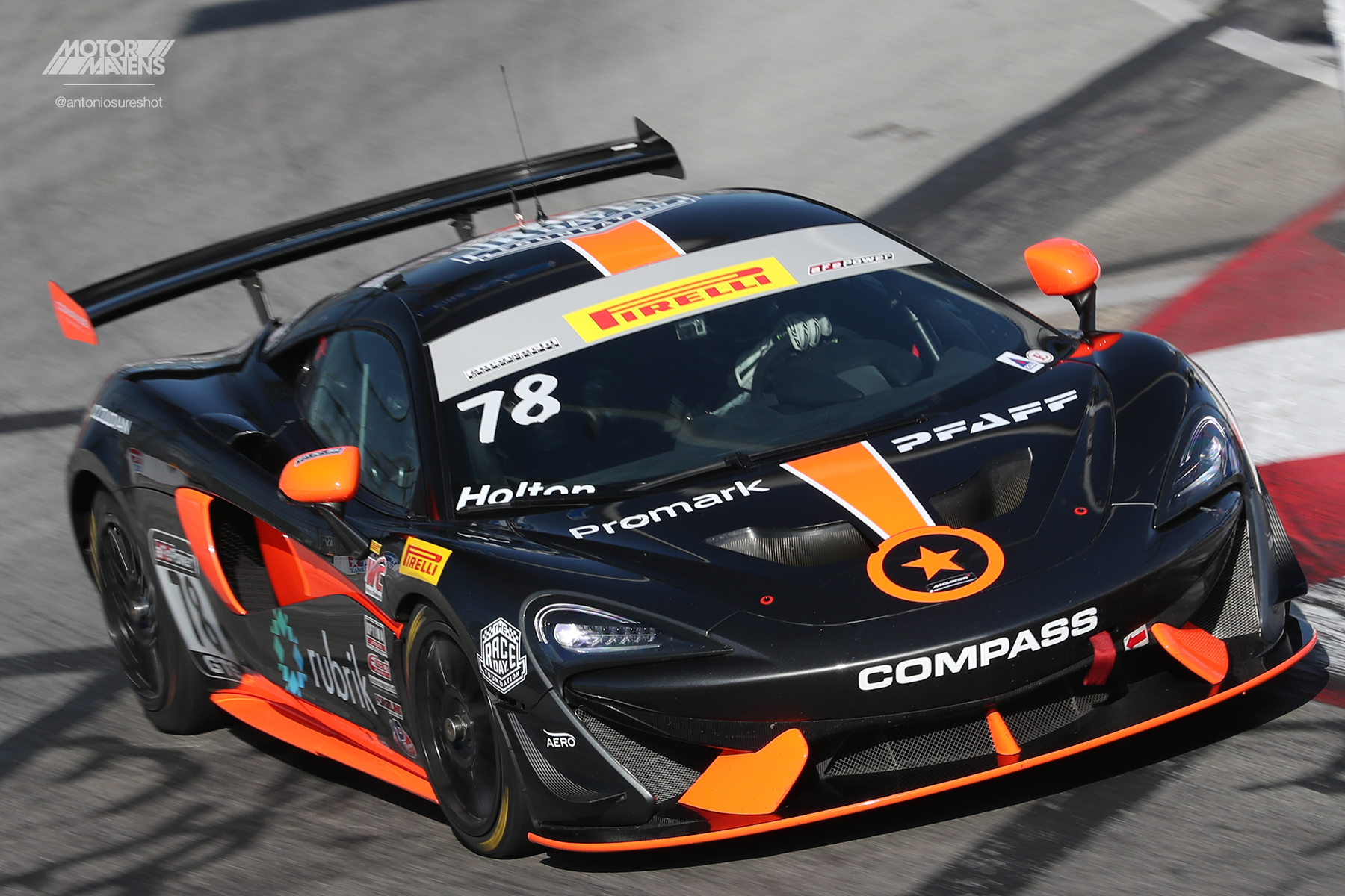 Pirelli World Challenge, Long Beach Grand Prix, Pirelli, Compass Racing, McLaren 570S, McLaren