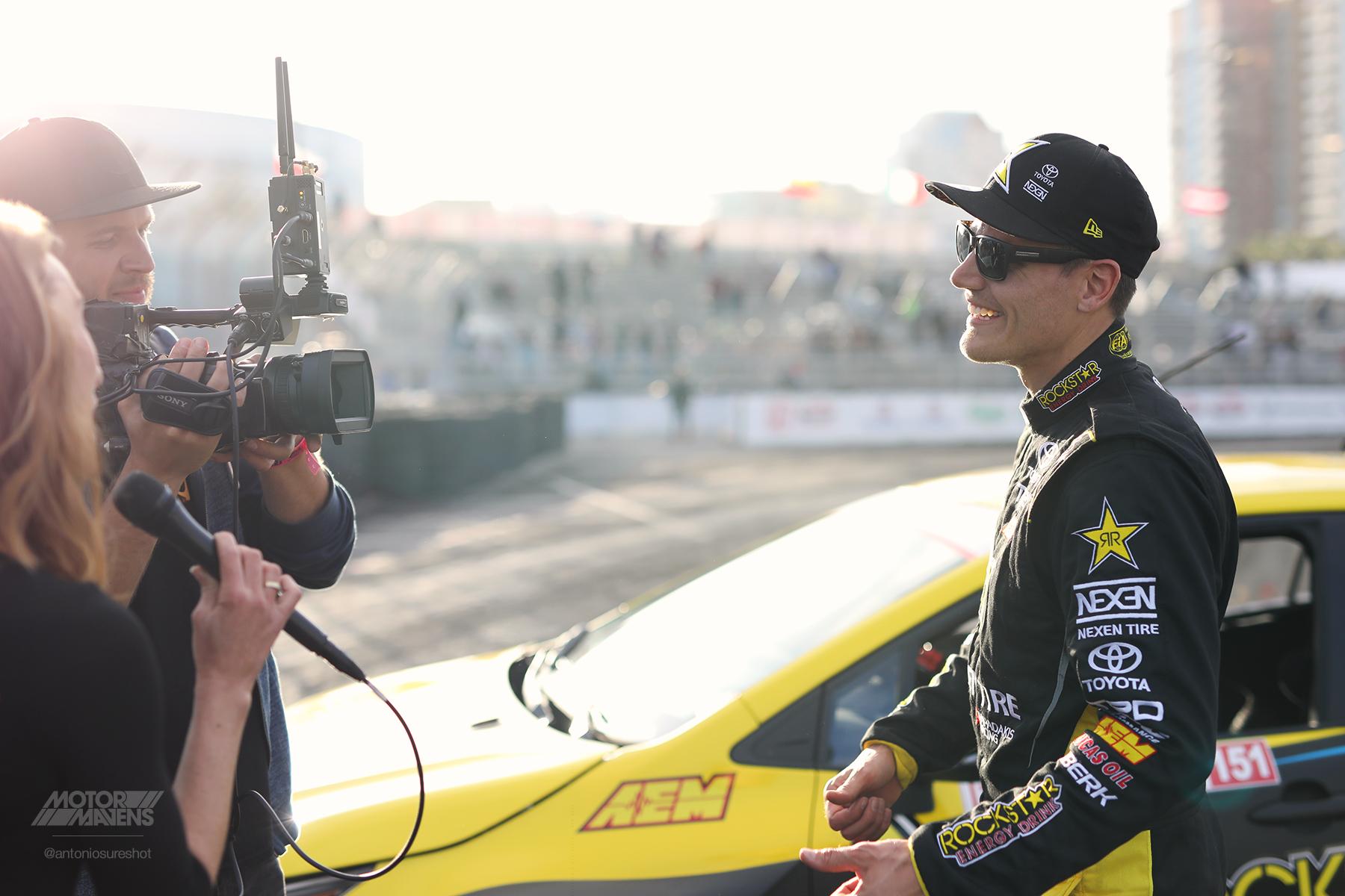 FDLB, TGPLB, GPLB, Formula Drift Long Beach, Fredric Aasbo, 2019 Corolla, Rockstar Energy, AEM Electronics, Motegi Racing, Nexen Tire