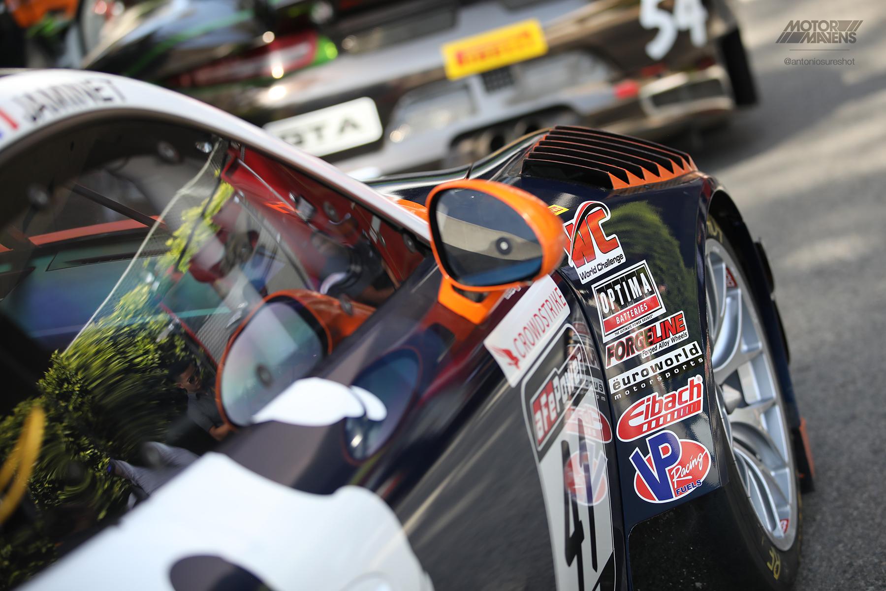 Pirelli World Challenge, Porsche 911 GT3R, Alec Udell, Euroworld Motorsports